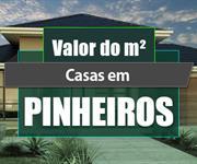 Imagem Qual o valor do metro quadrado das Casas em Pinheiros?