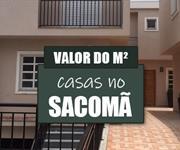 Imagem Qual o valor do metro quadrado das Casas no Sacomã?