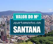 Imagem Qual o valor do metro quadrado dos apartamentos em Santana?