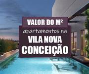 Imagem Qual o valor do metro quadrado dos Apartamentos na Vila Nova Conceição?