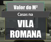 Imagem Qual o valor do metro quadrado das Casas na Vila Romana?