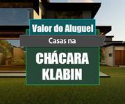 Imagem Qual o valor do Aluguel das Casas na Chácara Klabin?