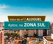 Imagem Qual o valor do metro quadrado do Aluguel dos Apartamentos na Zona Sul de São Paulo?