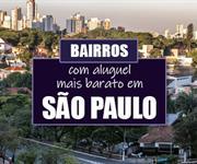 Imagem Quais os bairros com alugueis mais baratos em São Paulo?