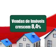Imagem Vendas de imóveis no Brasil sobem 8,4% em 2020