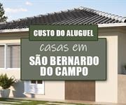 Imagem Qual o valor do Aluguel das Casas em São Bernardo do Campo, no Grande ABC - SP?