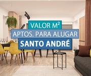 Imagem Qual o valor do metro quadrado dos Apartamentos para Alugar em Santo André?