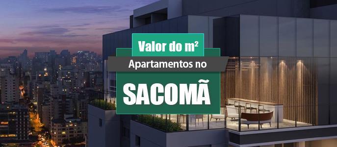 Imagem Qual o valor do metro quadrado dos Apartamentos no Sacomã?