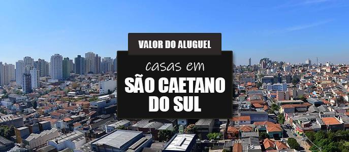 Imagem Qual o valor do Aluguel das Casas em São Caetano do Sul?