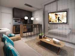 Apartamentos-Um-Dormitorio