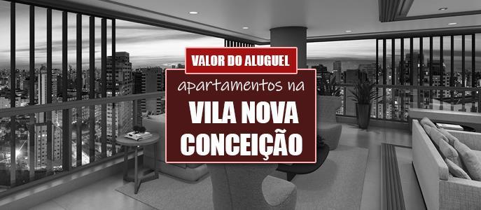 Imagem Qual o valor do Aluguel dos Apartamentos na Vila Nova Conceição?