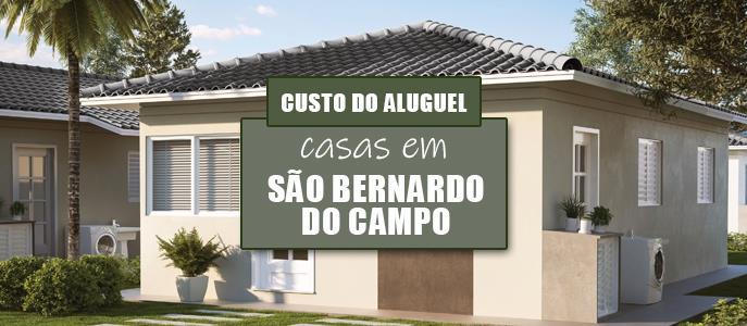 Imagem Qual o valor do Aluguel das Casas em São Bernardo do Campo, no Grande ABC?