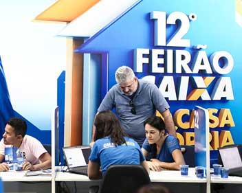 Imagem Feirão da Caixa em São Paulo movimentou R$ 2,9 bilhões