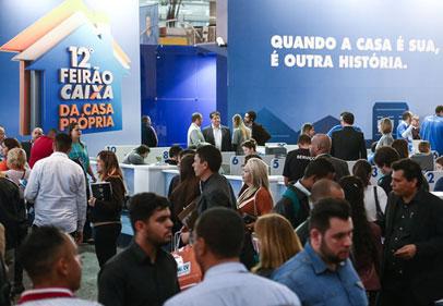 Imagem 12º Feirão Caixa movimenta R$ 10,3 bilhões em negócios