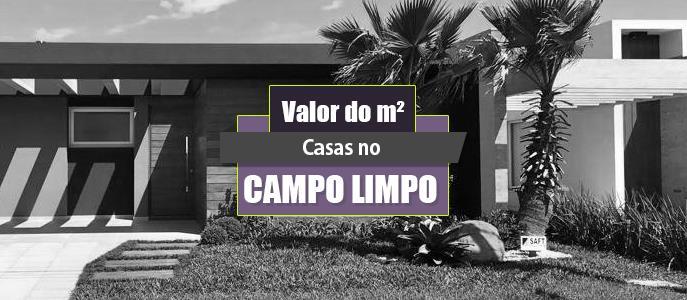 Imagem Qual o valor do metro quadrado das Casas no Campo Limpo?