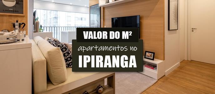 Imagem Qual o valor do metro quadrado dos Apartamentos no Ipiranga?