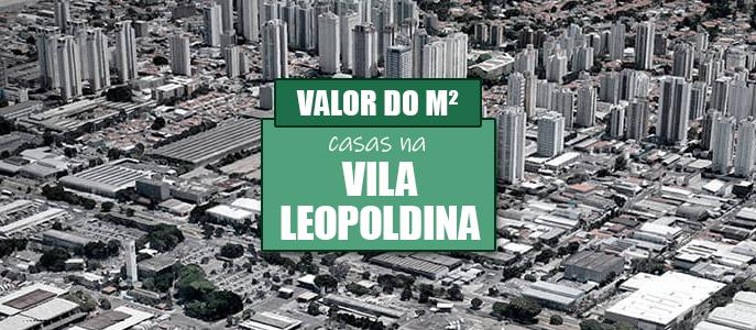 Imagem Qual o valor do metro quadrado das Casas na Vila Leopoldina?