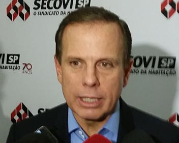 Imagem João Doria conversa com empresários do ramo imobiliário