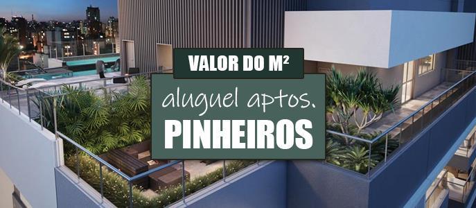 Imagem Qual o valor do Aluguel dos Apartamentos em Pinheiros?