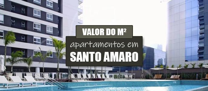 Imagem Qual o valor do metro quadrado dos Apartamentos em Santo Amaro?