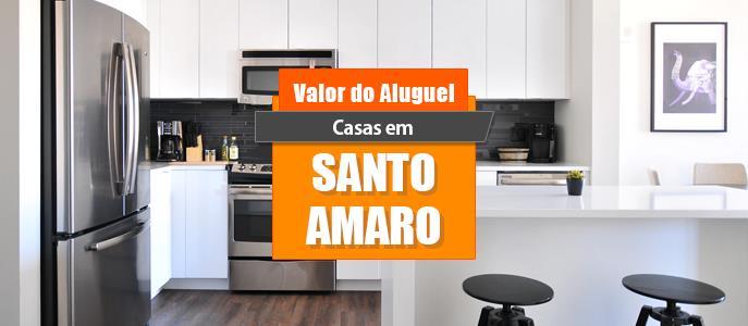 Imagem Qual o valor do Aluguel das Casas em Santo Amaro?