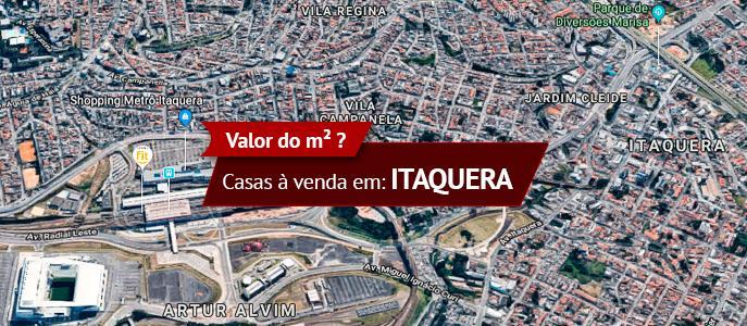Imagem Qual o valor do metro quadrados das Casas e Sobrados em Itaquera, Zona Leste, SP?