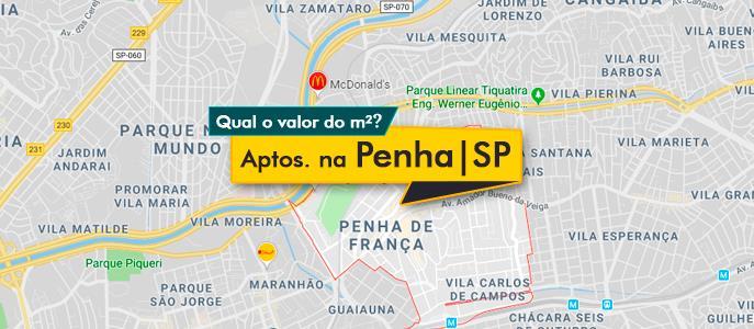 Imagem Qual o valor do metro quadrado dos Apartamentos na Penha, SP?