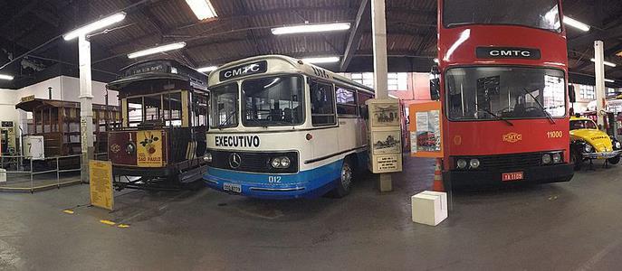 Imagem Museu dos Transportes é opção de passeio