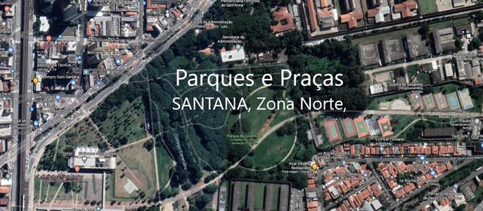 Imagem Parques e Praças no bairro de Santana, Zona Norte, São Paulo