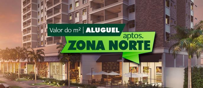 Imagem Qual o valor do metro quadrado do Aluguel dos Apartamentos na Zona Norte de São Paulo?