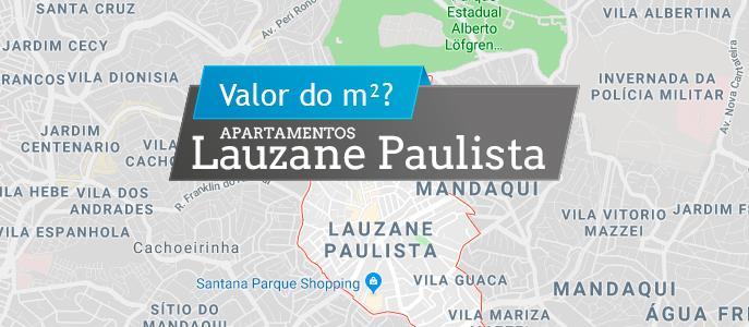 Imagem Qual o valor do metro quadrado dos apartamentos no Lauzane Paulista?