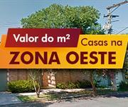 Imagem Qual o valor do metro quadrado das Casas na Zona Oeste, SP?