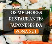 Imagem Restaurantes Japoneses na Zona Sul de SP: saiba quais são os melhores