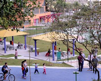 Imagem Parque do Chuvisco é a nova atração da Zona Sul